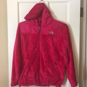 Zip up fleece jacket, North Face